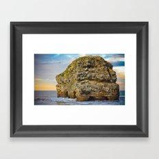 Marsden Rock Framed Art Print