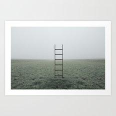 Ladders Art Print