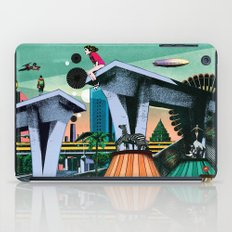 During his absence iPad Case