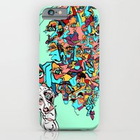 iPhone & iPod Case featuring Brain Drain by Rat McDirtmouth