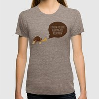 Feel like hugging you right now Womens Fitted Tee Tri-Coffee SMALL