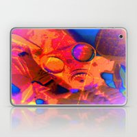 Abstract Gasmask Laptop & iPad Skin