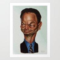 Gary Sinise Art Print