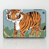 Tiger Tiger Burning Brig… iPad Case