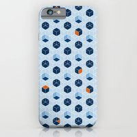 Blue Cubes iPhone 6 Slim Case