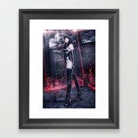 OBEY! Framed Art Print