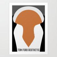 Tom Ford Aesthetic Art Print