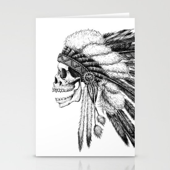 Native American Stationery Card