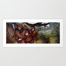 Dragon Age Art Print