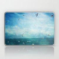 brighton seagulls 3 Laptop & iPad Skin