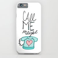 iPhone & iPod Case featuring Call Me Maybe by Leah Flores