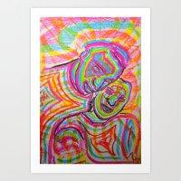Let Our Love Flow Art Print
