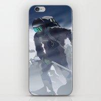 Iceman iPhone & iPod Skin