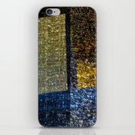 iPhone & iPod Skin featuring Abstract Art 45 by Lo Coco Agostino