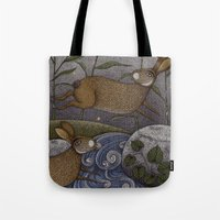 Swamp Rabbit's Reedy River Race Tote Bag