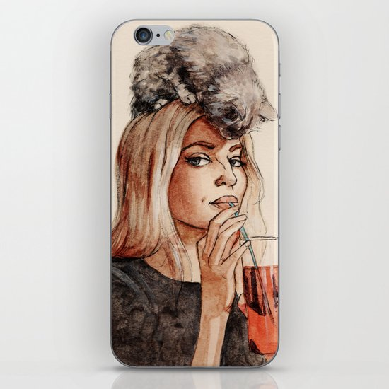 Addicted to Love iPhone & iPod Skin