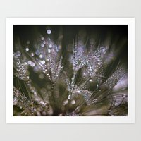 glitter Art Prints featuring glitter by Bonnie Jakobsen-Martin