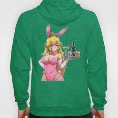 Peachy Bunny Hoody