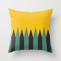 Wild Travels Throw Pillow