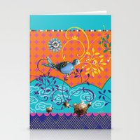 Song Bird 2 Stationery Cards