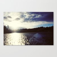 Missing The Road Canvas Print
