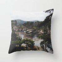 Bluefish Cove Throw Pillow