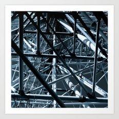 ferris wheel 02 Art Print