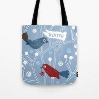 4 Seasons - Winter Tote Bag