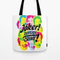 The Joker - Clown Prince… Tote Bag