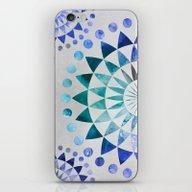 iPhone & iPod Skin featuring Mandala Pattern by LebensART