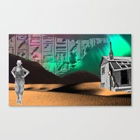 See To Be Canvas Print
