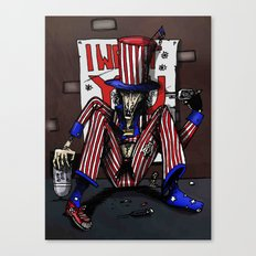 Uncle Sammy Canvas Print