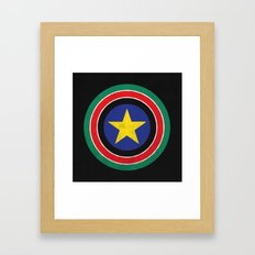Captain South Sudan Framed Art Print