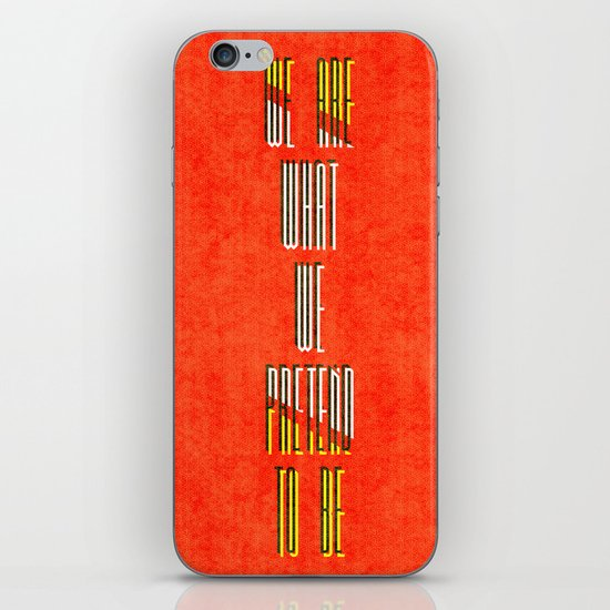 Pretenders iPhone & iPod Skin