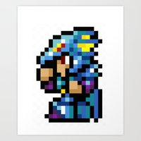 Final Fantasy II - Kain Art Print