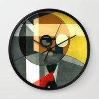 Rudolf Carnap Wall Clock