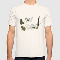 Winwood Mens Fitted Tee Natural SMALL