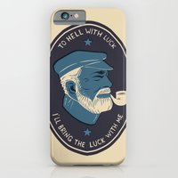 iPhone & iPod Case featuring To Hell With Luck! by Matt Taylor