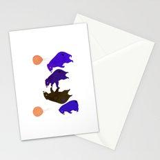 A sleepy bear party Stationery Cards