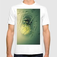 Calm Mens Fitted Tee White SMALL