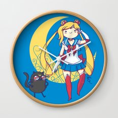 Adventure Moon Wall Clock