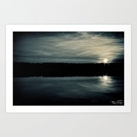 By Dawns First Light... Art Print