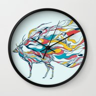 Hold Me Down Wall Clock