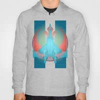 Into the future USAF F22 Hoody