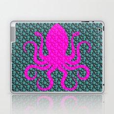 Pink Octopus Laptop & iPad Skin