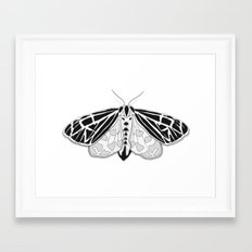 Virgin Tiger Moth Framed Art Print