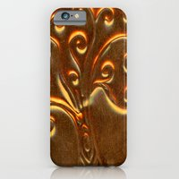 Brass Doodle Tree iPhone 6 Slim Case
