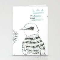 Blue King Stationery Cards
