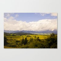 Away We Go Canvas Print