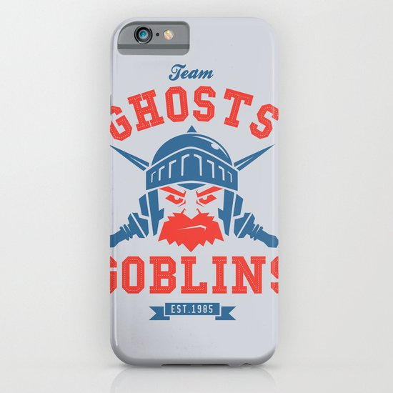 Team Ghosts & Goblins iPhone & iPod Case
